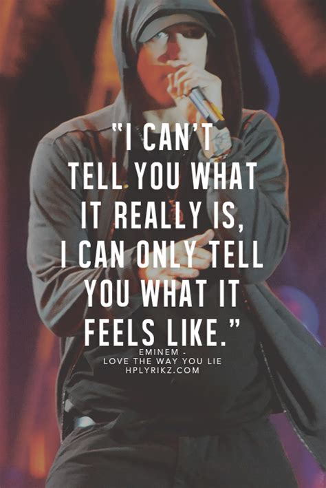 WORDS TO LIVE BY ♥ … | Rapper quotes, Rap quotes, Eminem songs