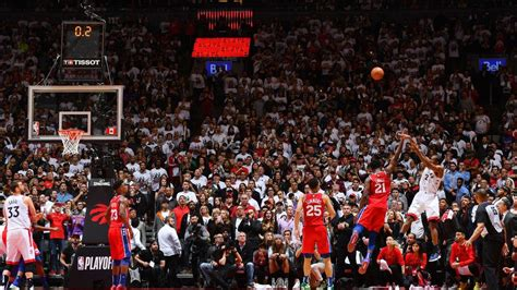 Kawhi ousts Sixers with unprecedented shot