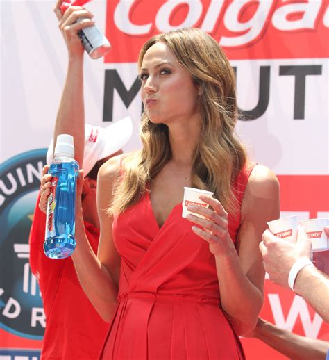 But Does Stacy Keibler Spit Or Swallow? - News People
