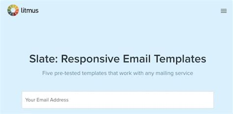 175 Free Responsive Email Templates | Practical Ecommerce