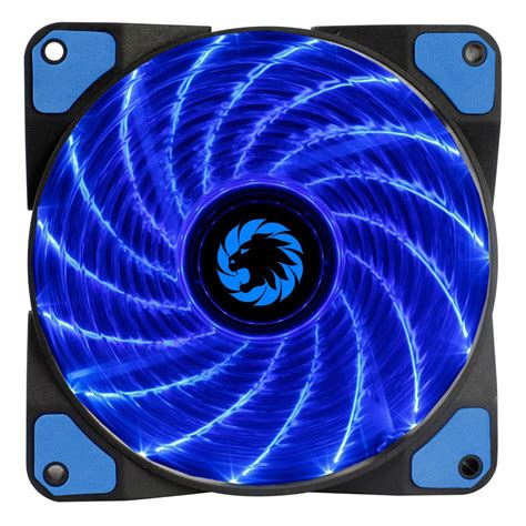 Game Max Storm Force (120mm) Blue LED Chassis Fan - GMX