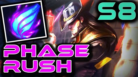 TWISTED FATE: PHASE RUSH   Season 8 RUNES + GUIDE