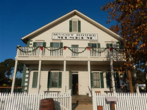 McCoy House Museum - Old Town State Historic Park, San