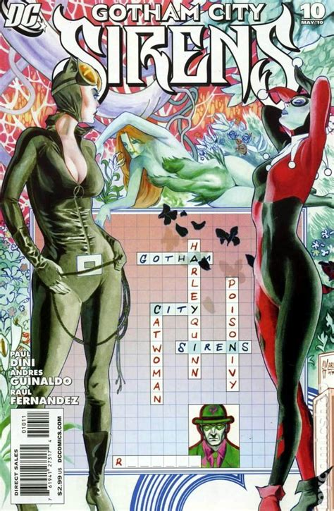 Gotham City Sirens (2009) comic books