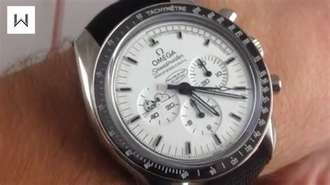 Omega Speedmaster Professional Moonwatch Silver Snoopy