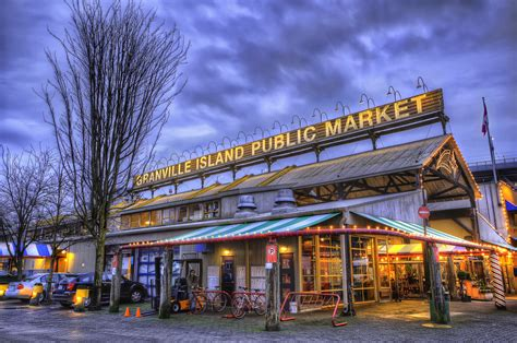 Granville Island Public Market | I always love going to
