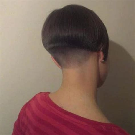 Pixie Haircut With Buzzed Nape - 15+ » Short Haircuts Models