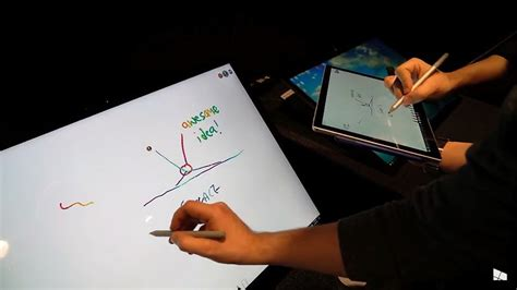 Hands-on with Microsoft's Whiteboard digital-ink